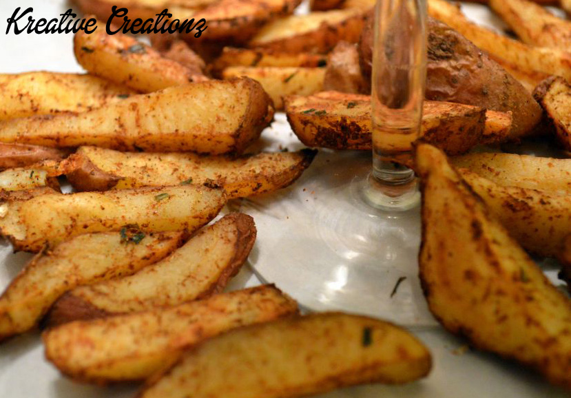 Spiced Baked Fries 2