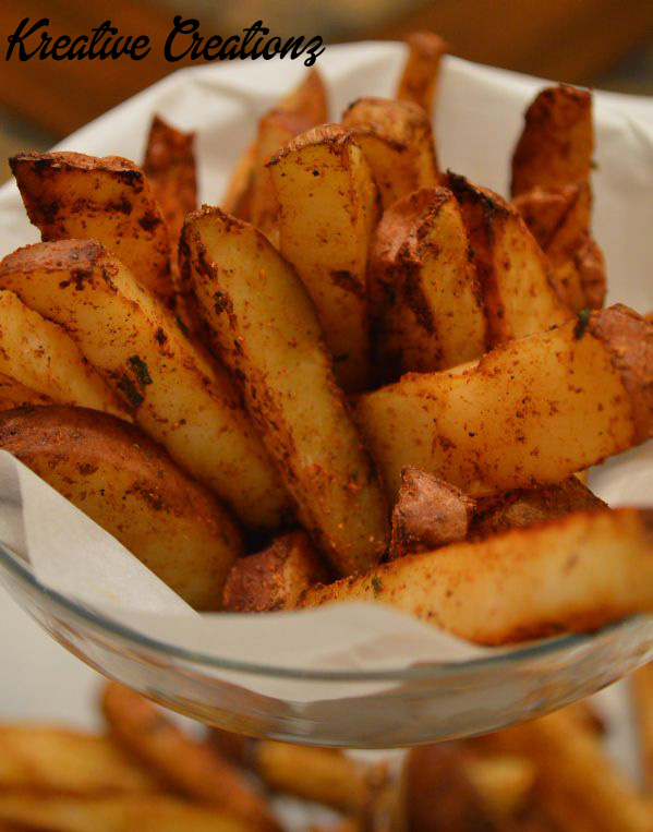 Spiced Baked Fries 3