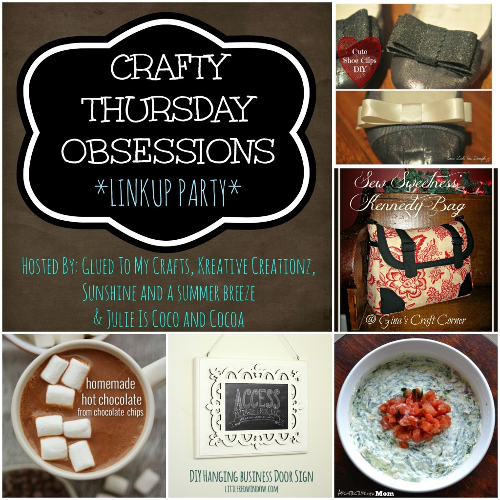 crafty thursday obsessions 1-16